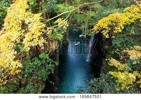 Takachiho Gorge in Japan