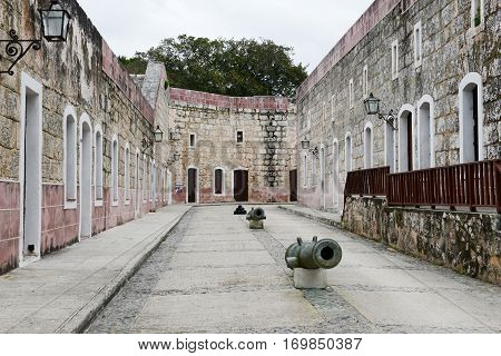 La Cabana Fortress At Havana