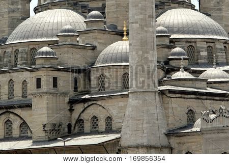 New Mosque (Yeni Cami) in Istanbul Turkey