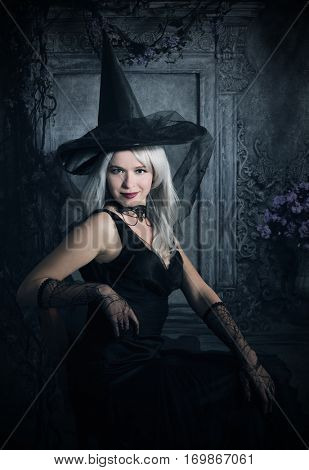 gothic female portrait