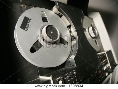 Video Tape Recorder Reels