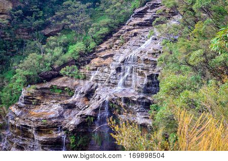 Wentworth falls Australia - Beautiful waterfalls in Blue Mountains National Park