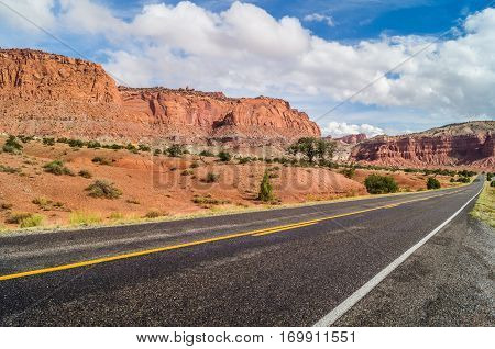 the majestic roads of the southwest of America