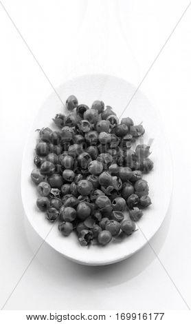 Close up of papper grains