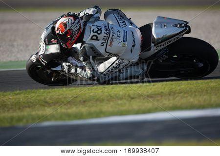 VALENCIA, SPAIN - NOV 13: Yonny Hernandez during Motogp Grand Prix of the Comunidad Valencia on November 13, 2016 in Valencia, Spain.