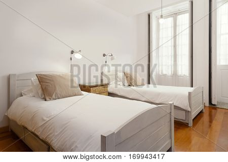Bright and Fresh Bedroom Suite with double beds