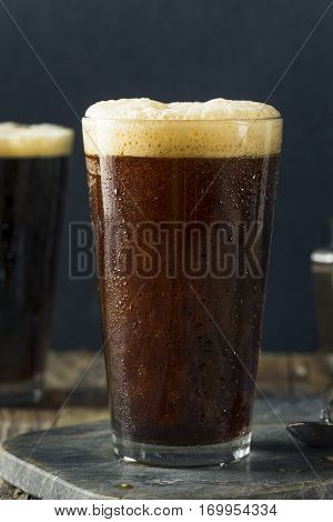 Frothy Nitro Cold Brew Coffee