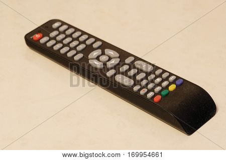 The image of an isolated clicker