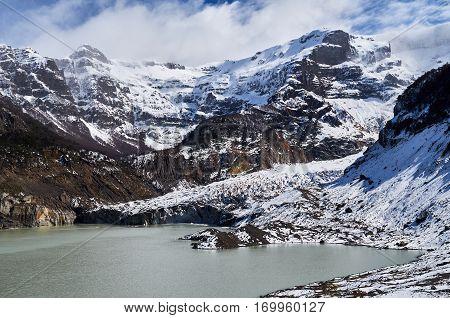 The Glacier Of The Black Snowdrift