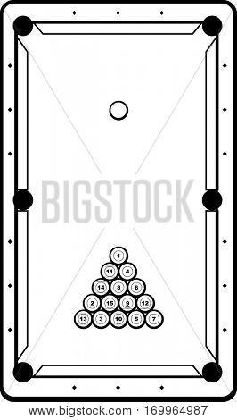 pool or billiards game
