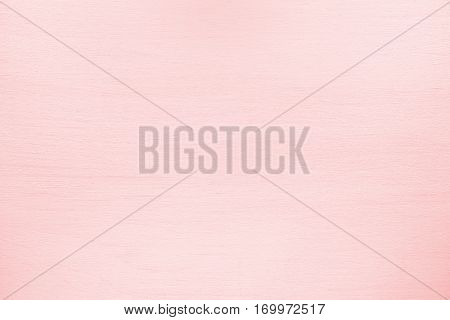 Painted pink table top view for background