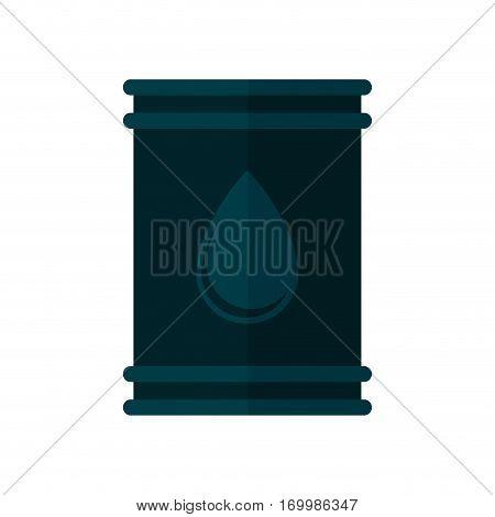 oil barrel petroleum drop icon vector illustration eps 10