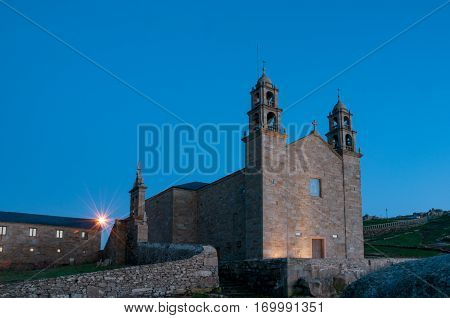 Nosa Senora da Barca Sanctuary in Muxia A Coruna Spain