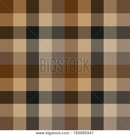 seamless pattern of squares in brown background