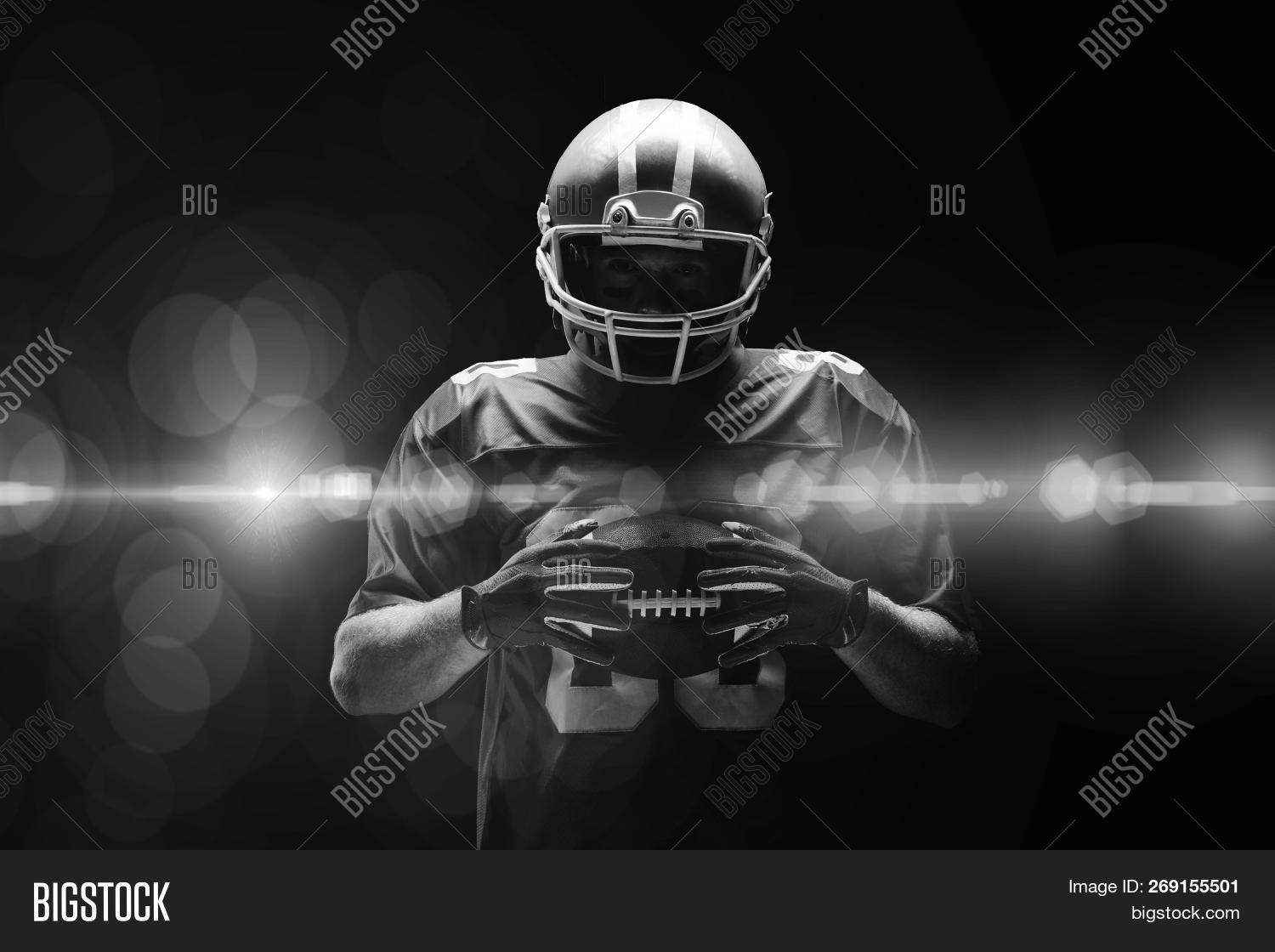American Football Image Photo Free Trial Bigstock