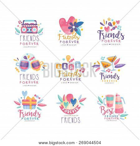 Friends Forever Logo Vector & Photo (Free Trial) | Bigstock
