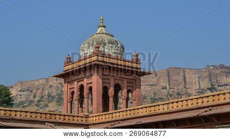 Ancient Temple In Jodhpur, India