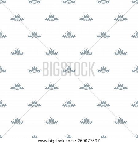 Building Bastion Pattern Vector Seamless Repeat For Any Web Design