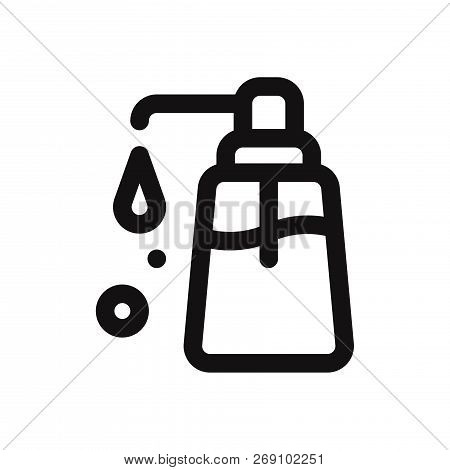 Liquid Soap Icon Isolated On White Background. Liquid Soap Icon In Trendy Design Style. Liquid Soap