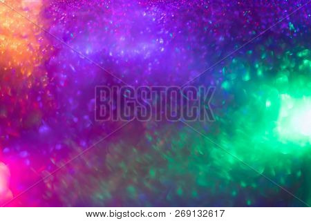 Abstract twinkled glittering Christmas background