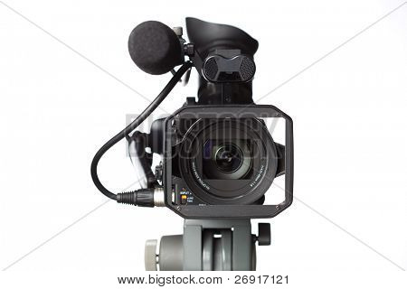 professional full HD camcorder poster