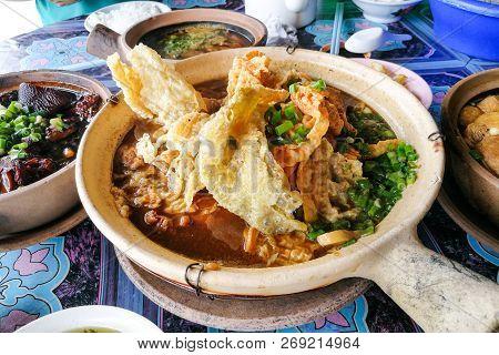 Bak Kut Teh, Stewed Pork In Herbal Soup.