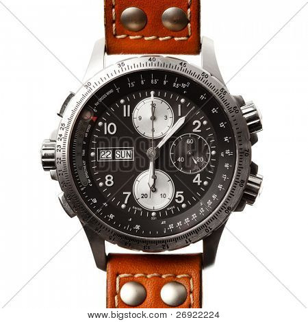 wristwatch isolated