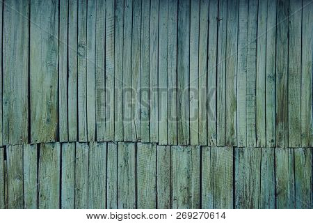 Old Wooden Fence. Shot Of Wooden Wall. Wooden Texture. Wooden Fence, Cropped Shot. Wooden Texture Ba