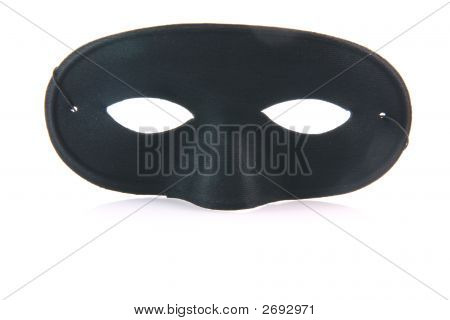 Black Mask With Reflection