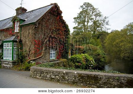 Irish cottage house in Cong - Co. Mayo