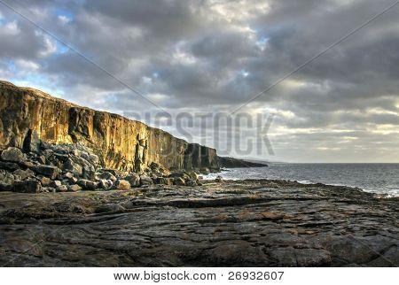 Fanore cliffs