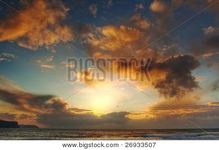 Sunset in Doolin - Ireland