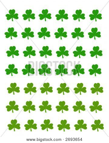 Shamrock Wallpaper Texture