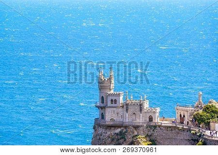 Castle Swallow's Nest In Black Sea, Crimea, Russia
