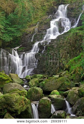 Torc waterfall in Killarney National Park - Ireland