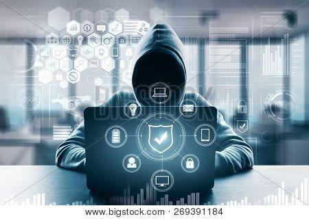 Computing And Malware Concept