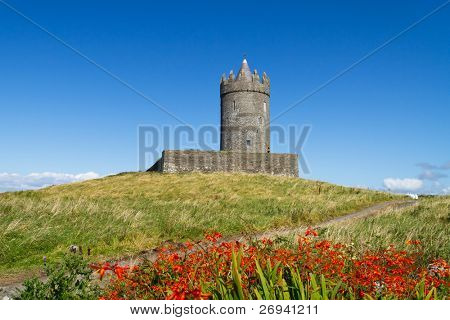 Doonagore castle near Doolin, Co. Clare - Ireland