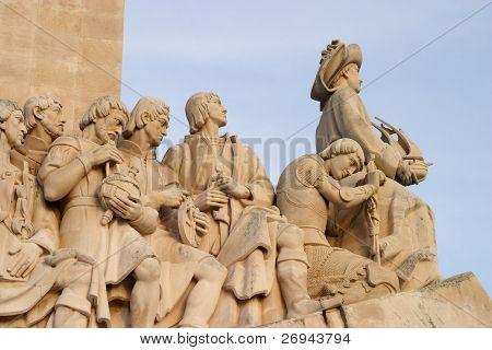 Lisbon Portugal Discoveries Monument