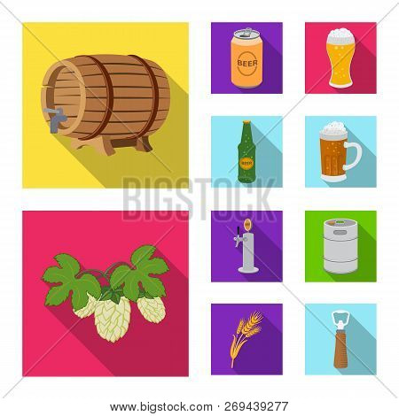Vector Illustration Of Pub And Bar Logo. Collection Of Pub And Interior Vector Icon For Stock.