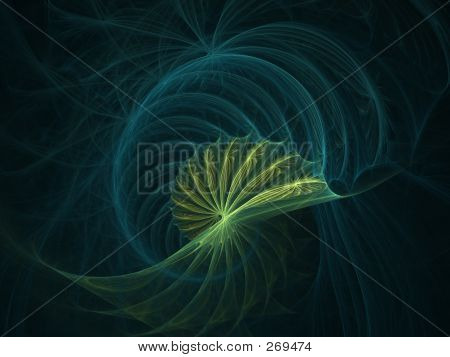 Green Blue Spiral