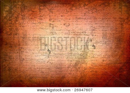 Grunge abstract background with handwrite text for design poster