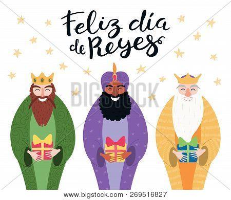 Feliz Dia De Reyes Fotos.Hand Drawn Vector Vector Photo Free Trial Bigstock