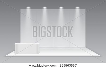 Small Exhibition Stand Vector : Blank exhibition vector photo free trial bigstock