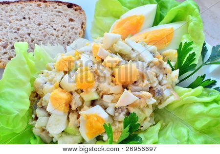 Forshmak - traditional Jewish appetizer with herring