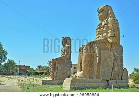 Colossi of Memnon, Egypt