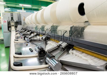 Coarse Cotton Factory In Spinning Production Line And A Rotating Machinery And Equipment Production