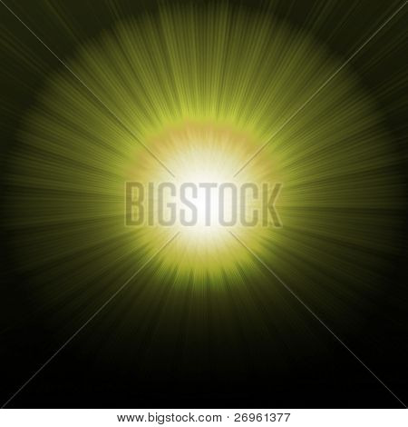 Abstract Background resembling an eclipse