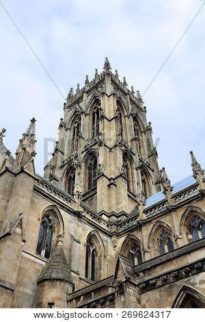 Doncaster Minster, South Yorkshire, Uk. Church Of St. George.