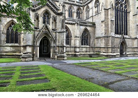 Doncaster Minster Church, South Yorkshire, Uk. Church Of St. George.
