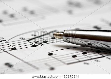Studying music